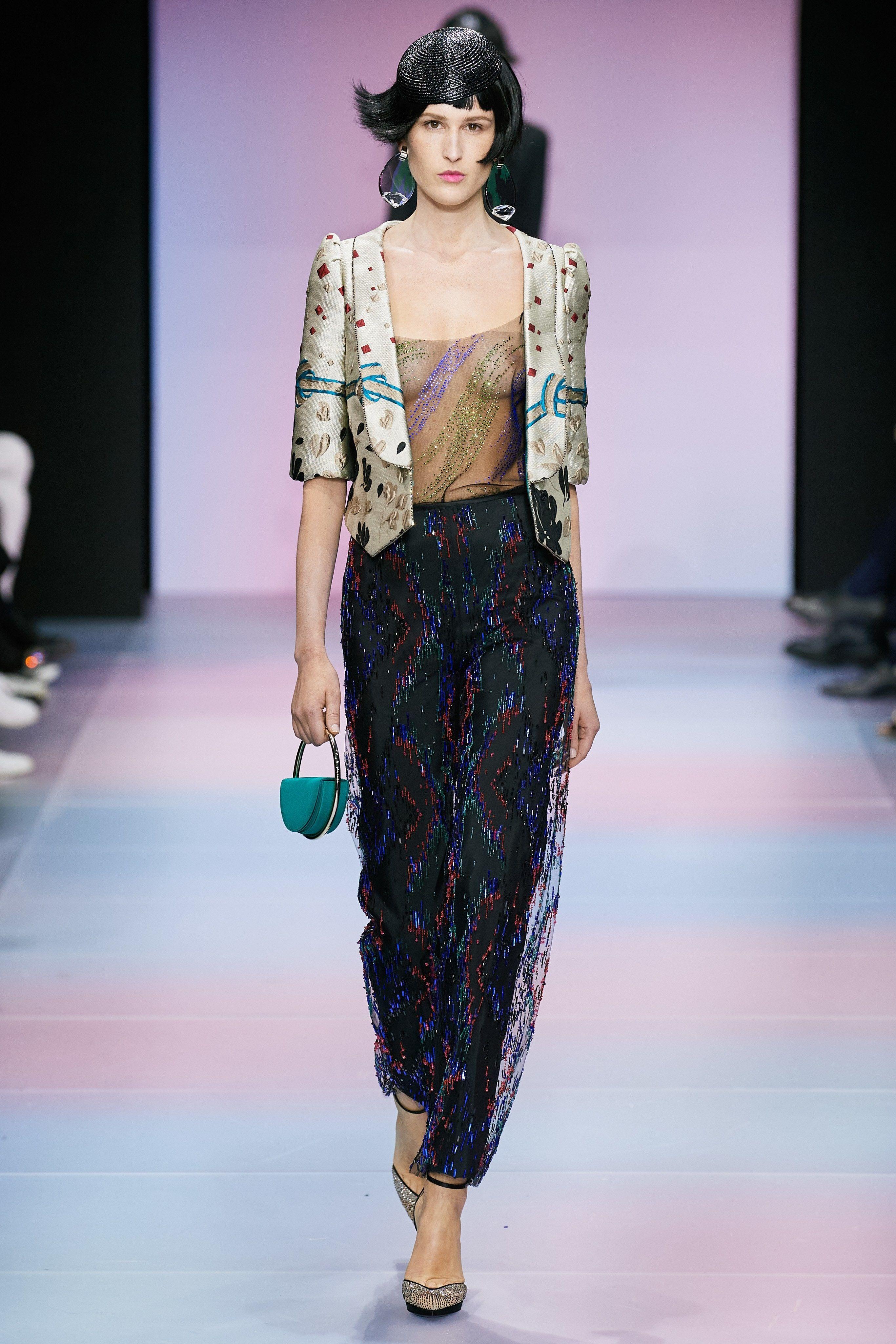 Armani Privé Spring 2020 Couture Fashion Show in 2020