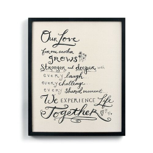 Love for One Another Manifesto Wall Art
