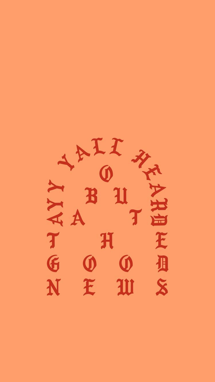 wallpaper kanye west the life of pablo tlop this is a god dream god dream  goddream