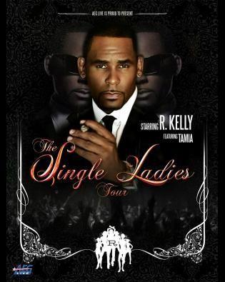 R kelly sa single ladies tour