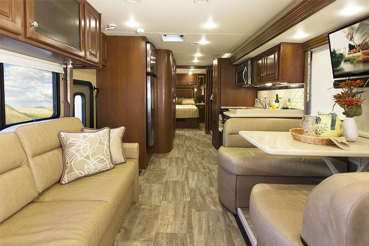 Luxury Diesel Pusher With Bunk Beds Motorhomes Coach