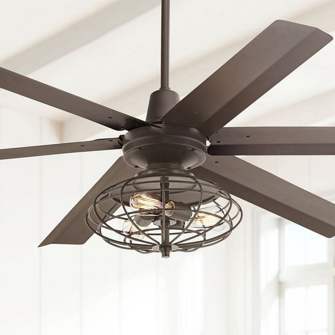64 This Industrial Style Ceiling Fan Is A Great Way With Images
