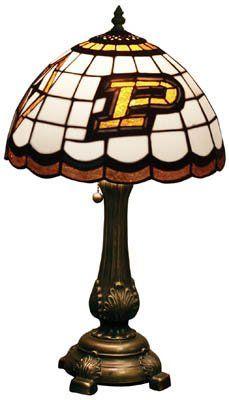 Purdue Boilermakers Tiffany Lamp Tiffany Lamps Table Lamp Lamp