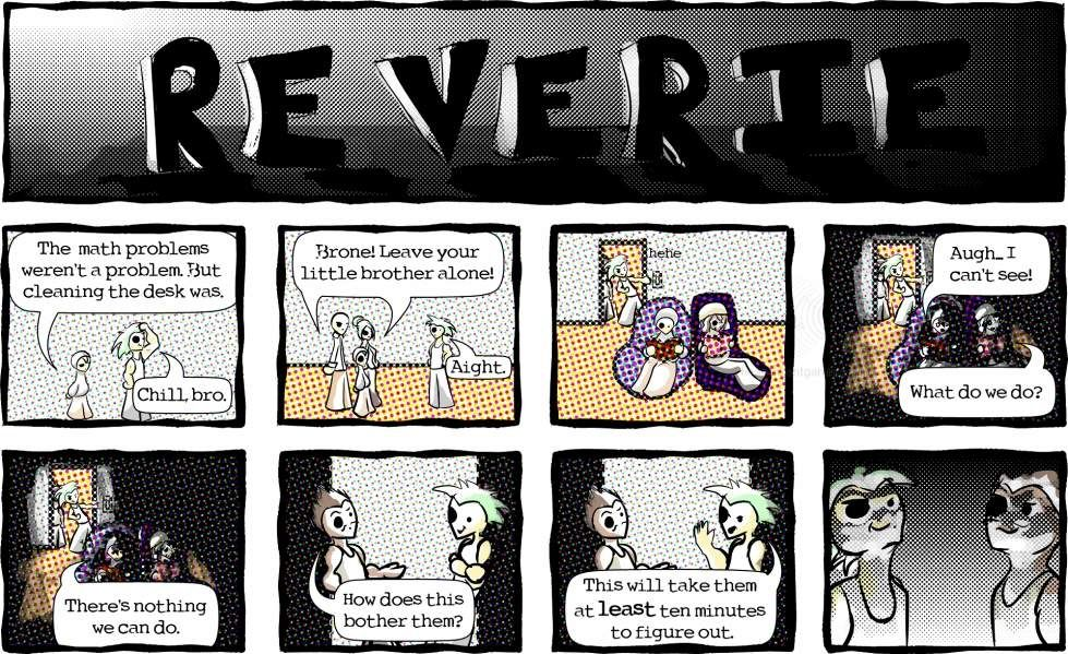 "Reverie comic: ""It'll Take A While"""