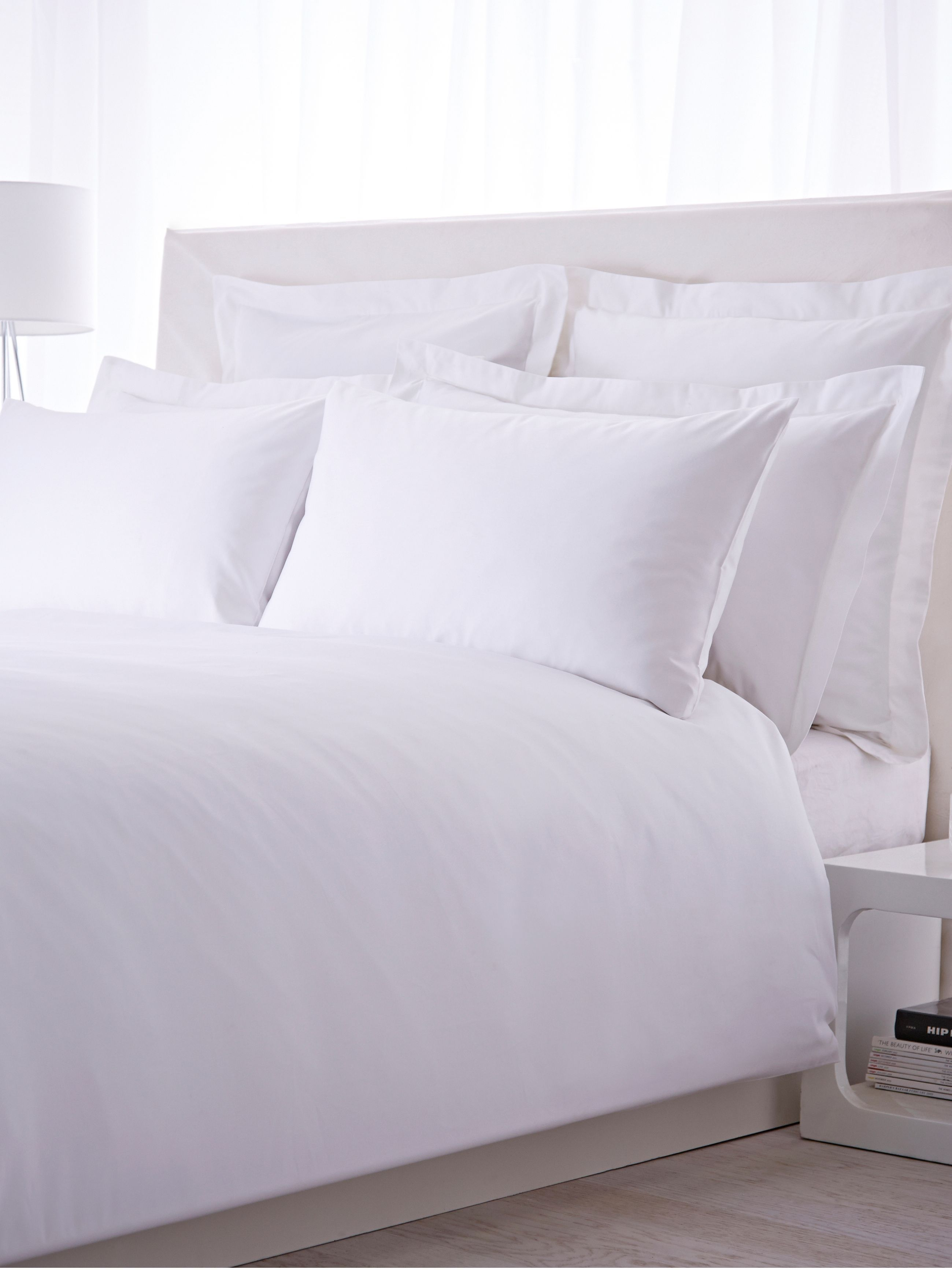 House Of Fraser Bed Linen Sets Part - 27: Luxury Hotel Collection 500 Thread Count Kingsize Fitted Sheet Pair White -  For All The Latest Ranges From The Best Brands Go To House Of Fraser