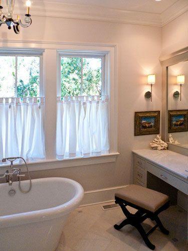 Half Curtain Bathroom Windows Half Window Curtains Roman