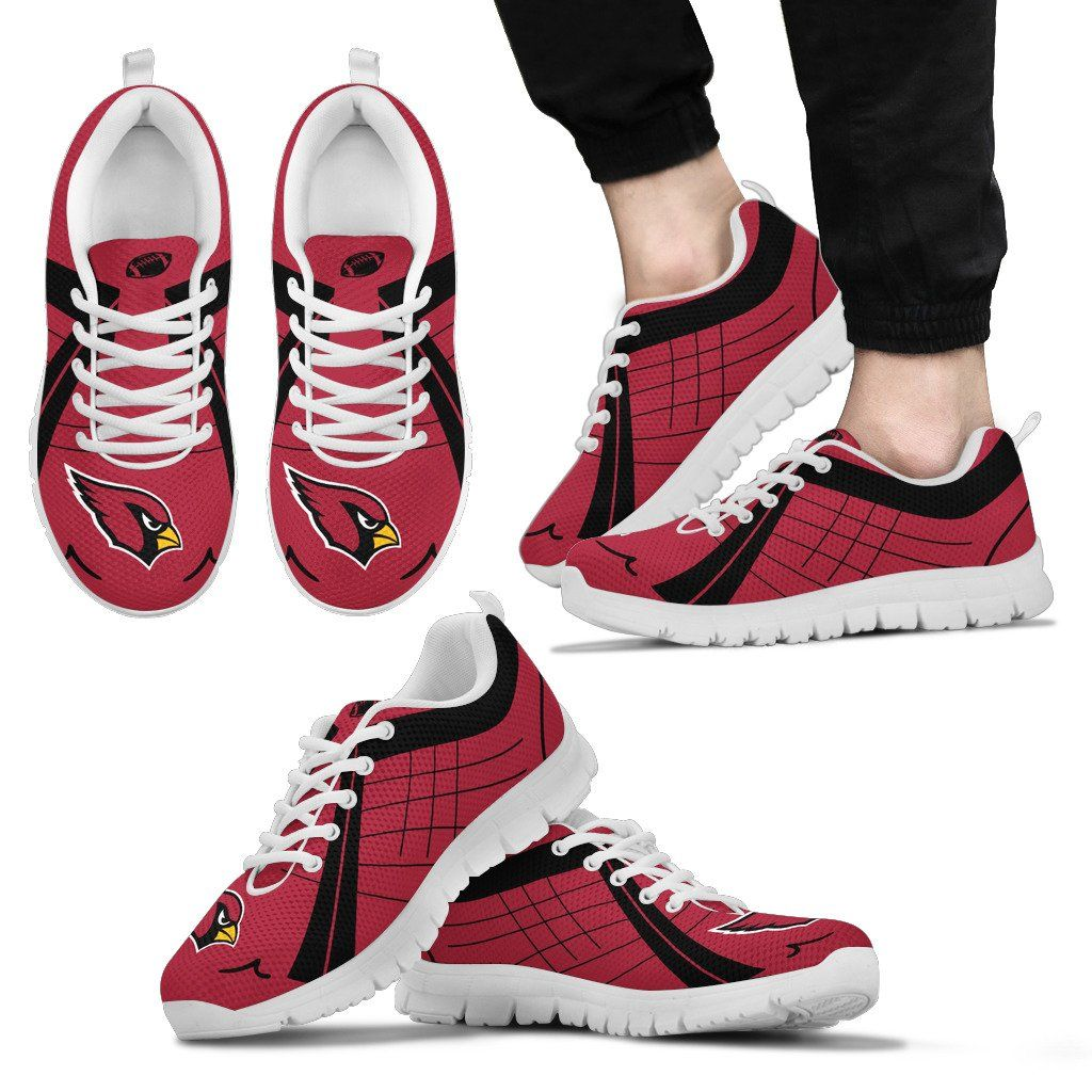 watch 1cbc7 a827d Best Finish Line Walking Sneakers Arizona Cardinals Football ...