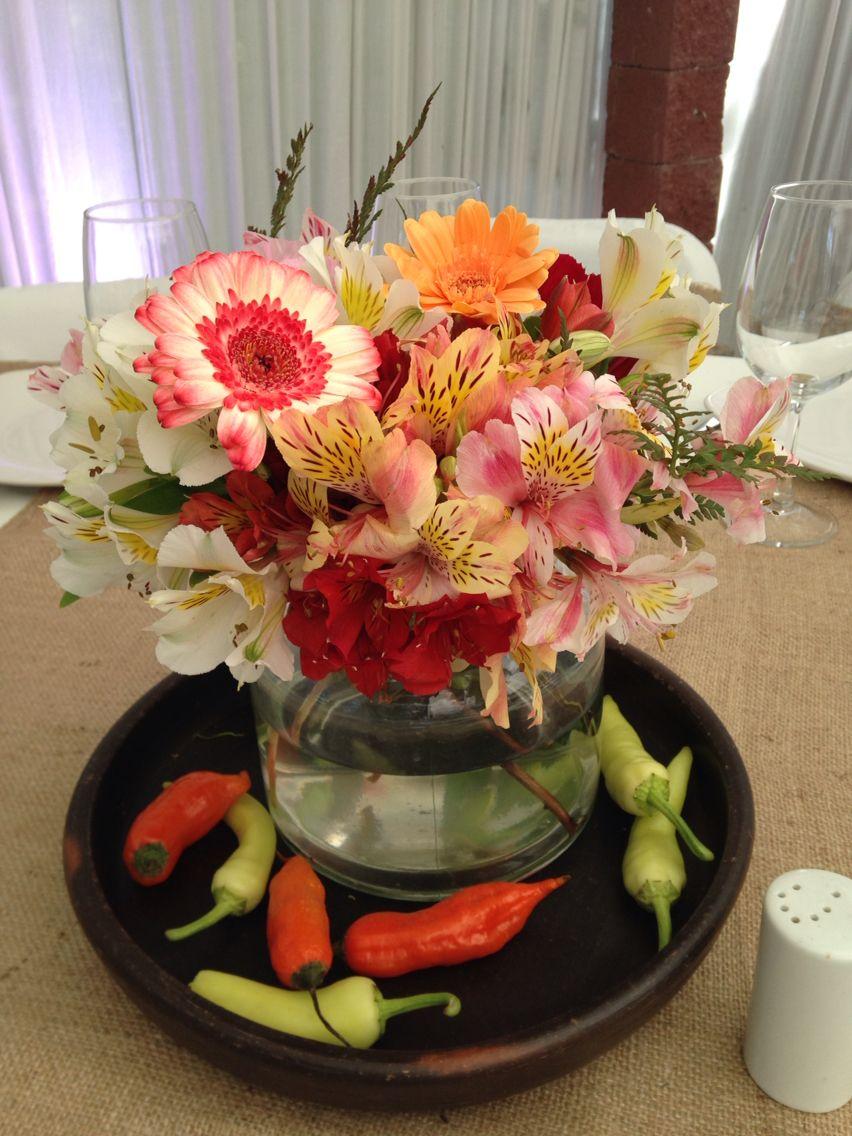 Decoración Matrimonio Campestre inspirada en el campo chileno. #losdecoradores