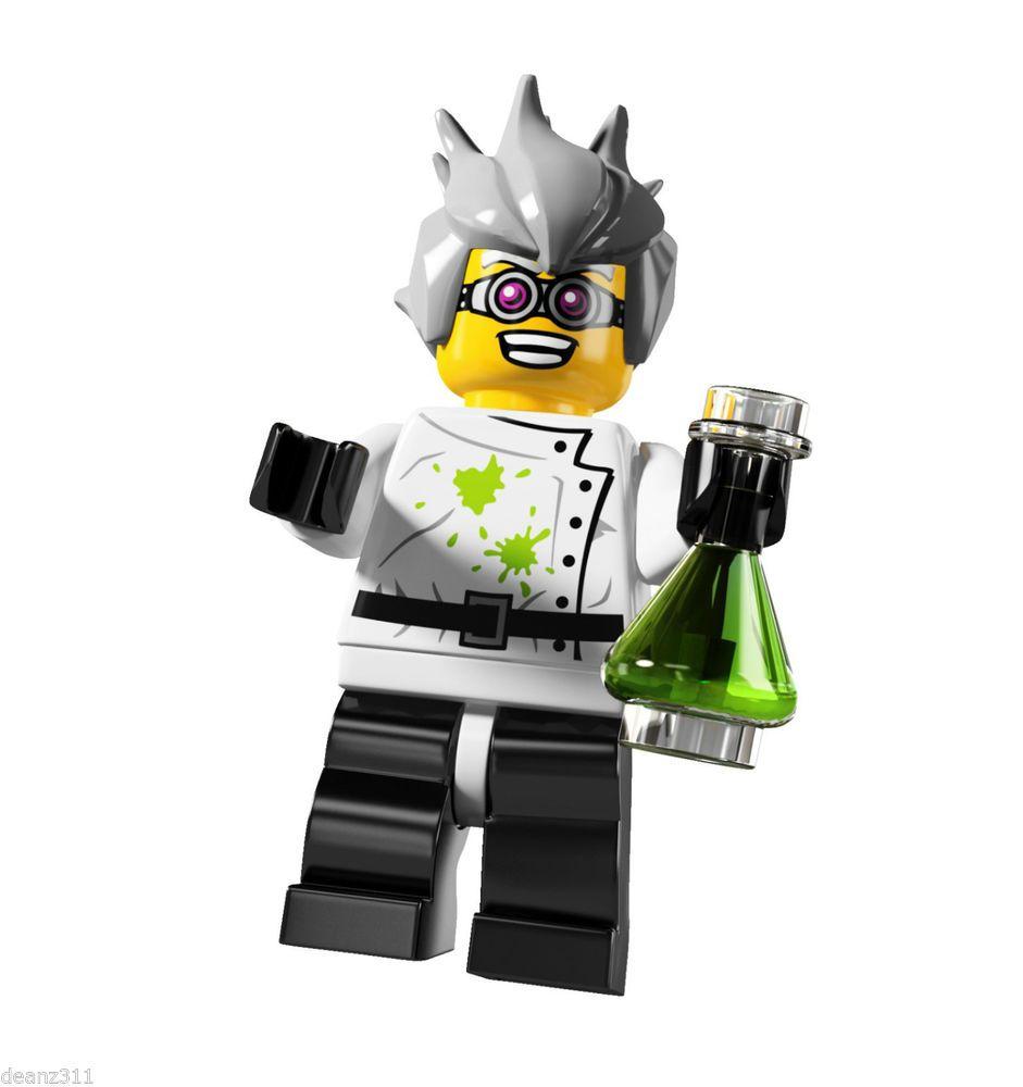 LEGO 8804 MINIFIGURES Series 4 #16 Crazy Scientist