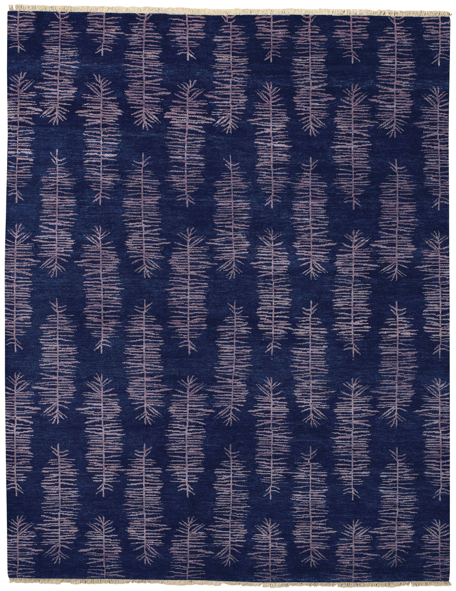 Aspen Midnight Blue Rug [humanely sheered wool version] | My ...
