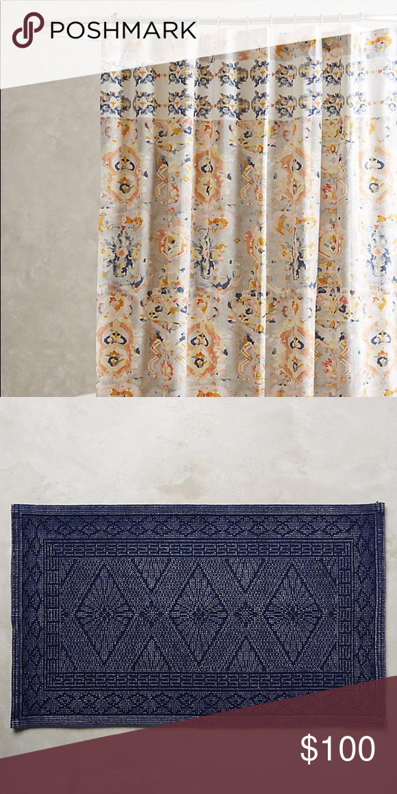 Anthropologie Shower Curtain And Bath Mat Anthropologie Orissa
