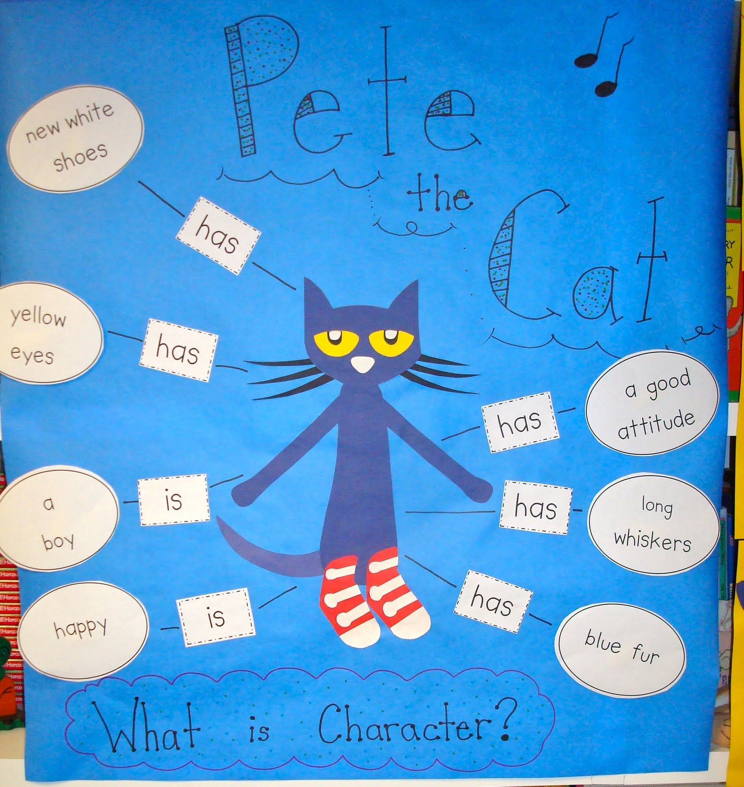 Pencils Glue Amp Tying Shoes Pete The Cat And Daily 5