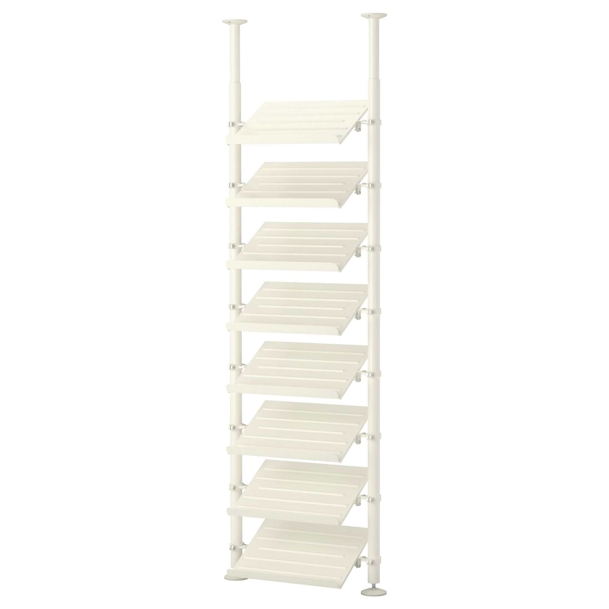 Stolmen 1 Section Ikea Adjustable Height Closet Shoe