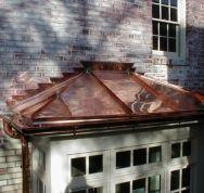 Copper Bay Window Metal Roof Bay Window Copper Roof