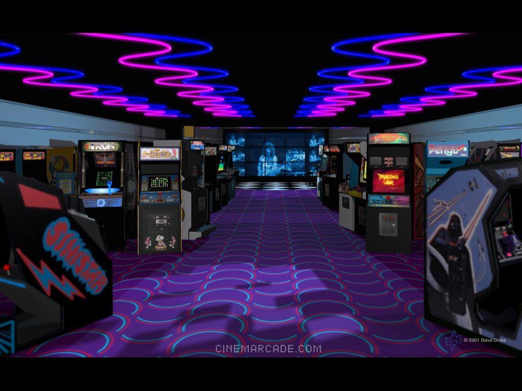 The Real Dwayne Allen Com The Classic Video Arcades Retro