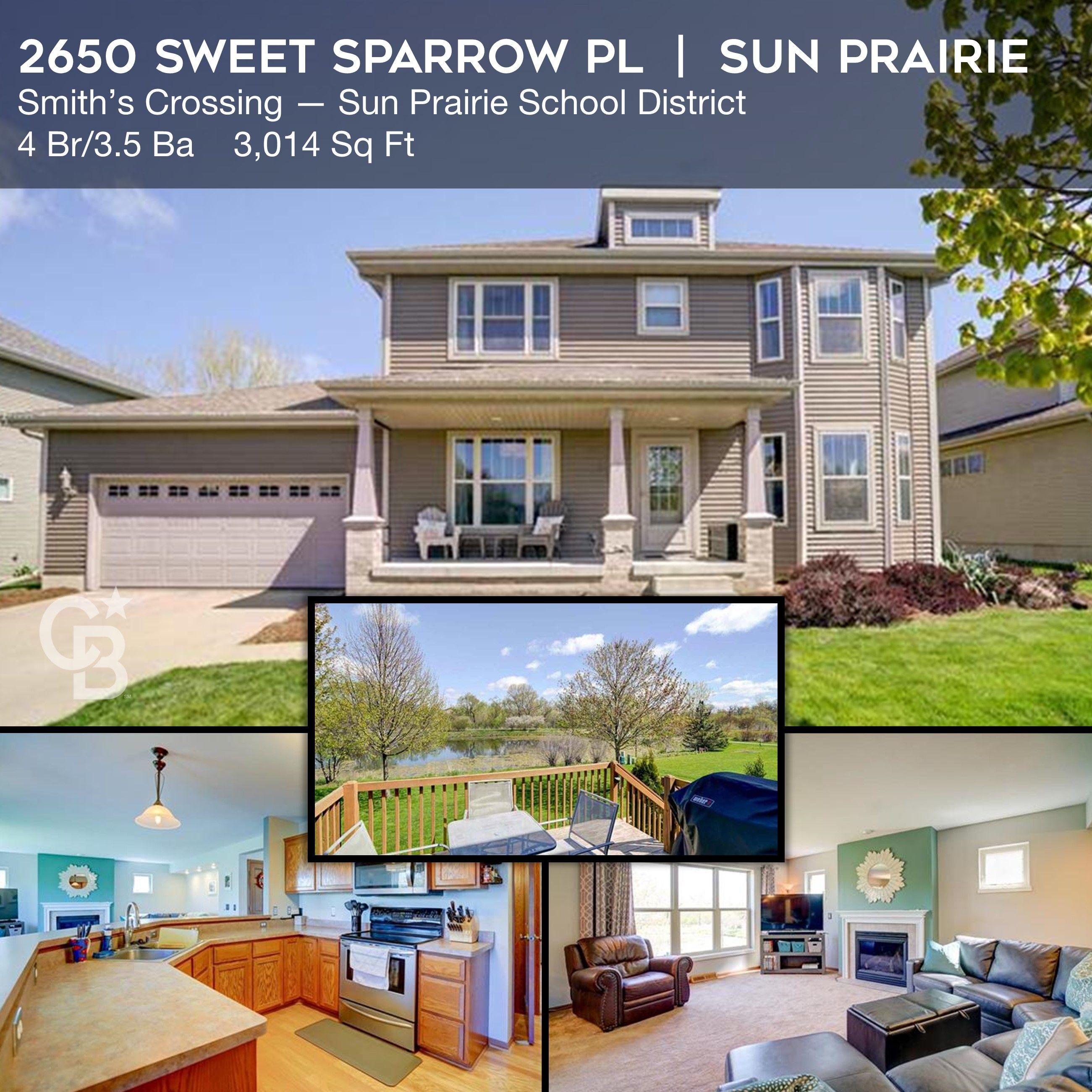 2650 sweet sparrow pl sun prairie wi in 2020 condos