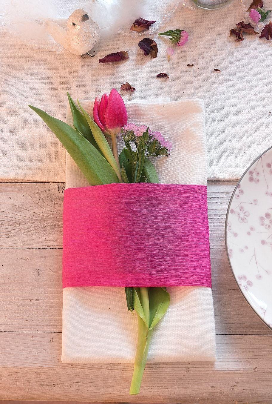 Ideen Fur Eine Fruhlingshafte Tischdeko Fruhling Spring Pink