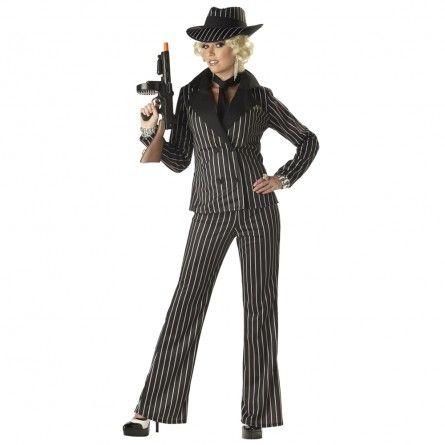 erwachsene massive gangster gangster kostum