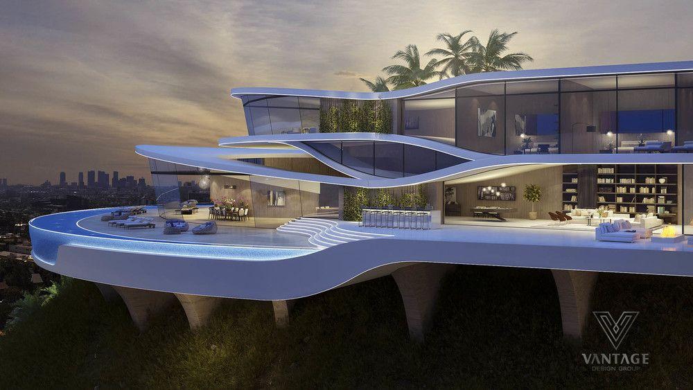 Concepts D'architecture Exceptionnels De Vantage Design Group