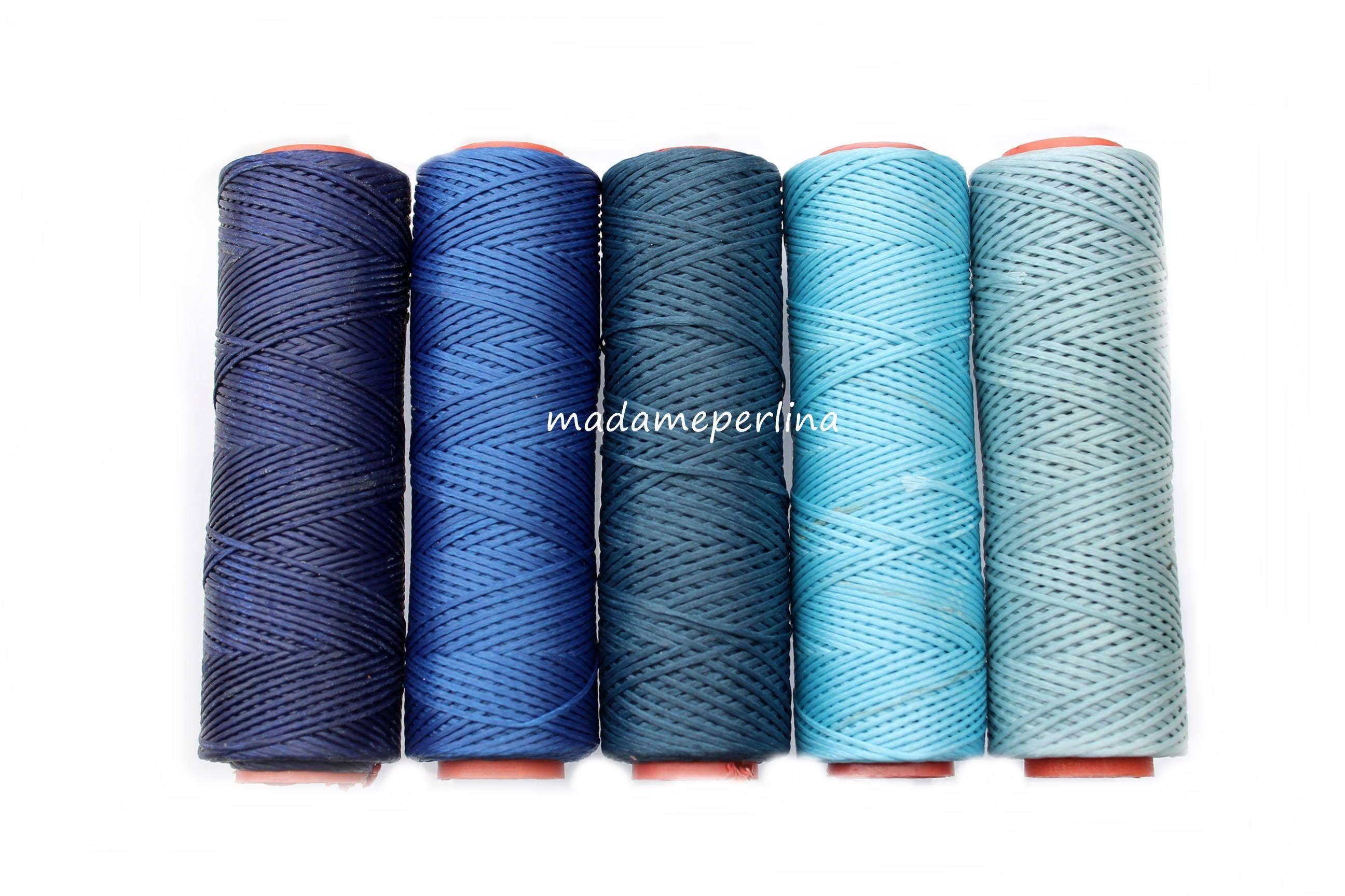 10 Meters 10 93 Yard Wax Cord Waxed Thread 1mm Polyester Macrame Rope Blue Turkish Jewellery Supplies Findings Lotb Turkish Jewelry Jewelry Supplies Jewelry