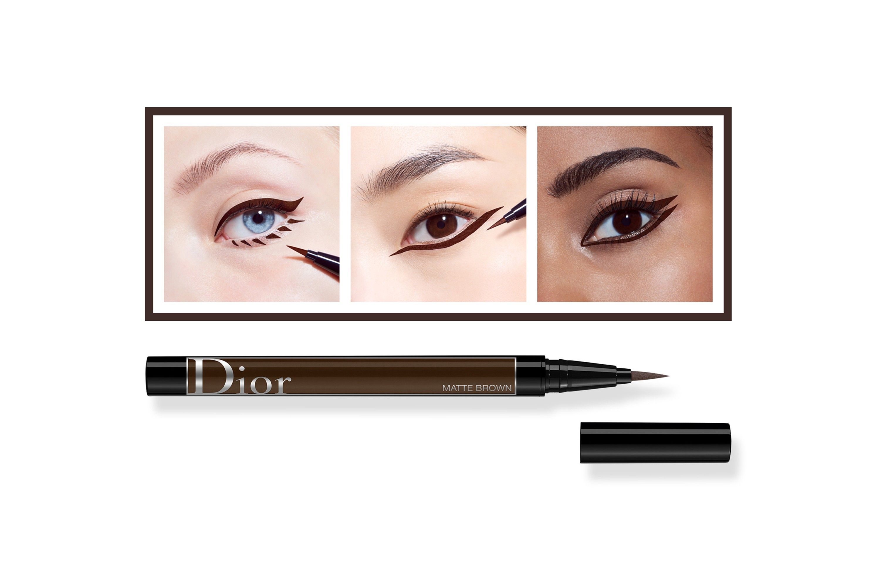 23fbccb2 Diorshow On Stage Liner | beauty and body | Felt tip eyeliner ...