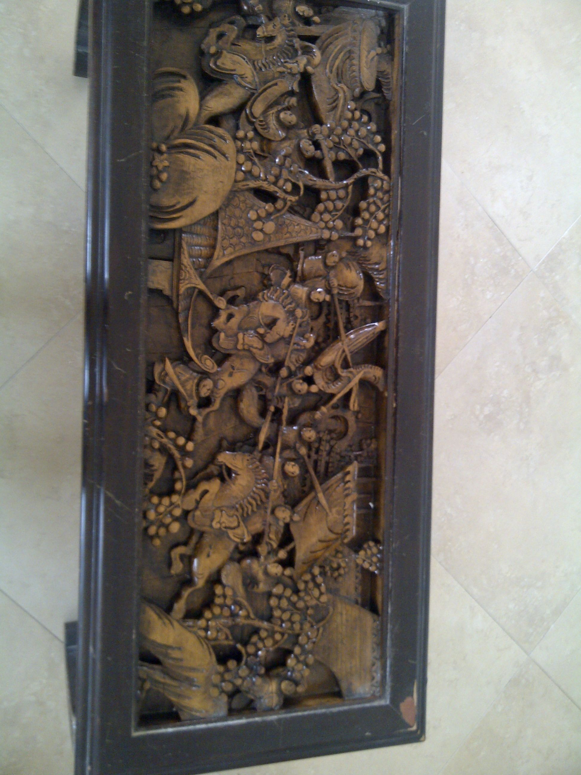 Carved Coffee Tables Hand Carved Ese Coffee Table Antique