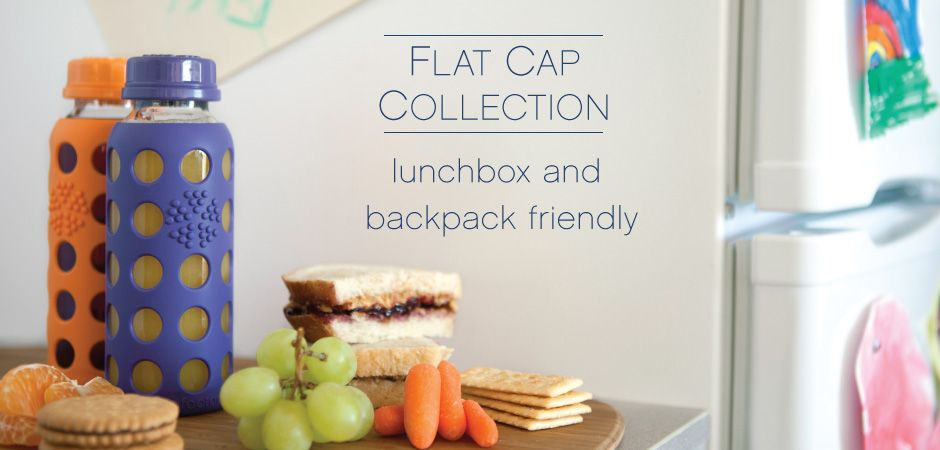 Life Factory Flat Cap Collection Lunch Box And Backpack Friendly Http Www Lifefactory Com Healthy Workplace Lunch Box Food Storage Containers