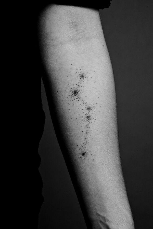 Que no te bajen las estrellas ¡Tatúalas en tu piel! | Lunares, La ...