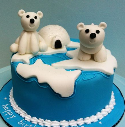 This Polar Bear Cake Is So Gorgeous I Couldn T To Eat It Get
