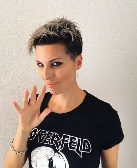 26 trendige kurze Haare schneiden Ideen für Frauen #bob ...