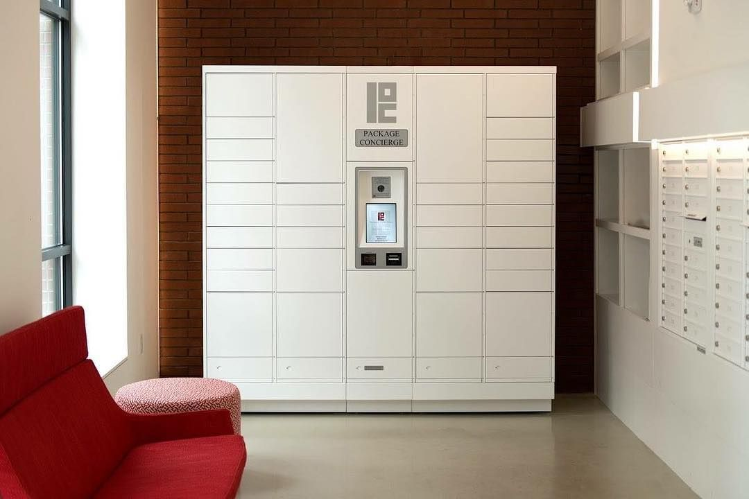 Pin By Package Concierge On Package Concierge Package Lockers In White Lockers Multifamily Housing Mail Room