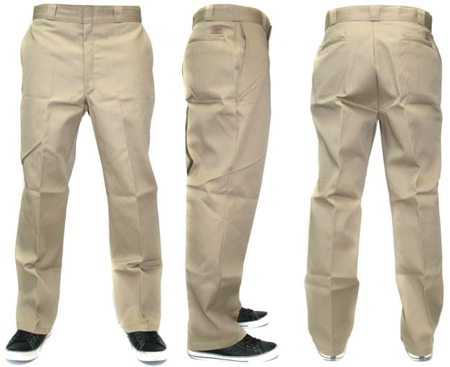 Detalles acerca de DICKIES 874 ORIGINAL WORK PANTS MEN KHAKI NEW ...