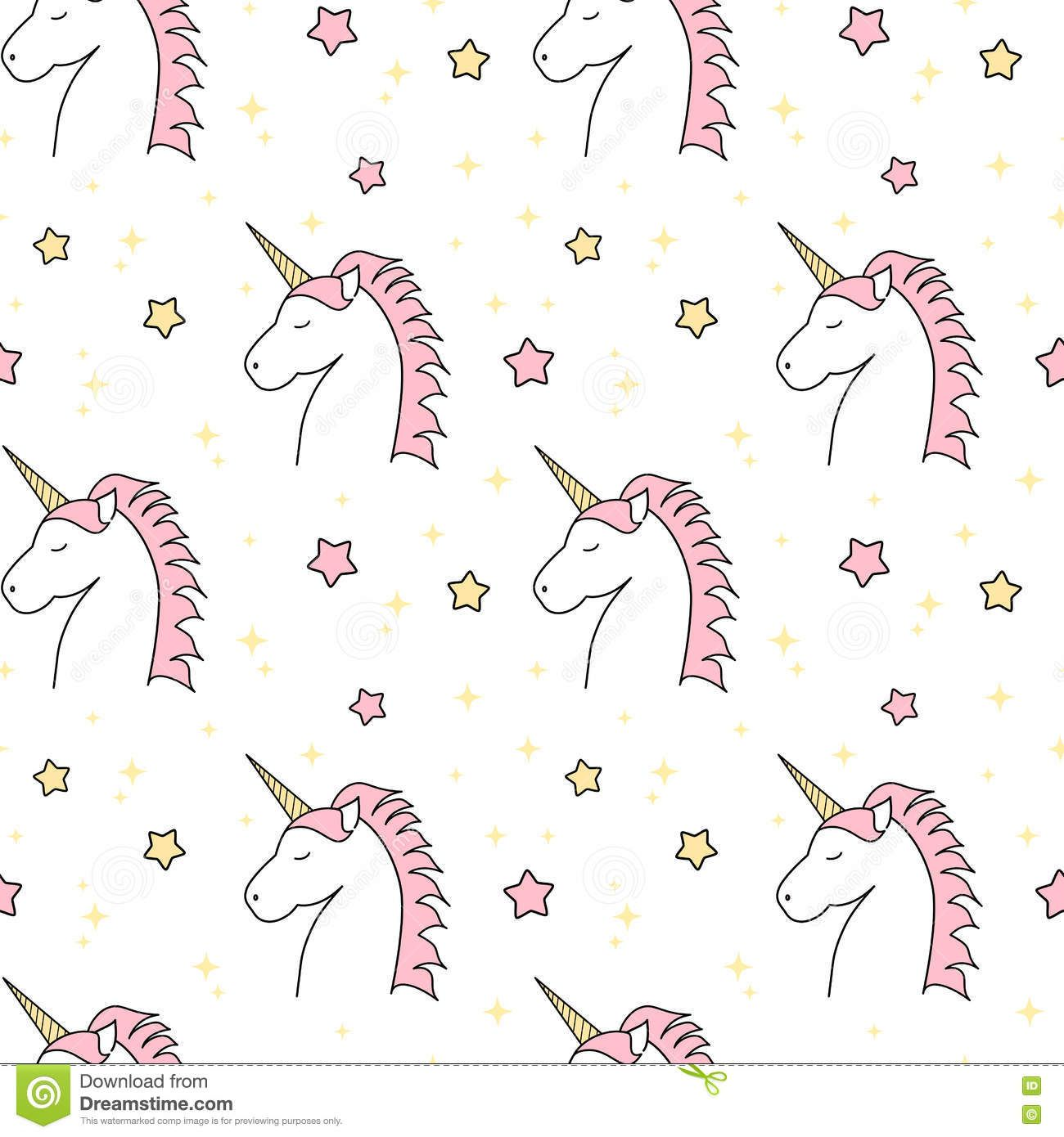 Unicorn Pattern Magnificent Design