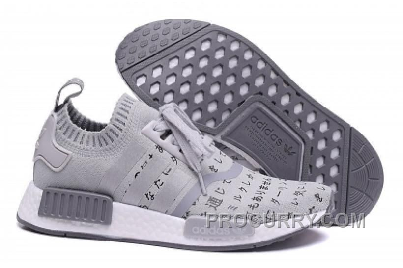 Discover the Adidas Nmd Runner Pk Japan Grey White Shoes New Style  collection at Pumacreeper. Shop Adidas Nmd Runner Pk Japan Grey White Shoes  New Style ...