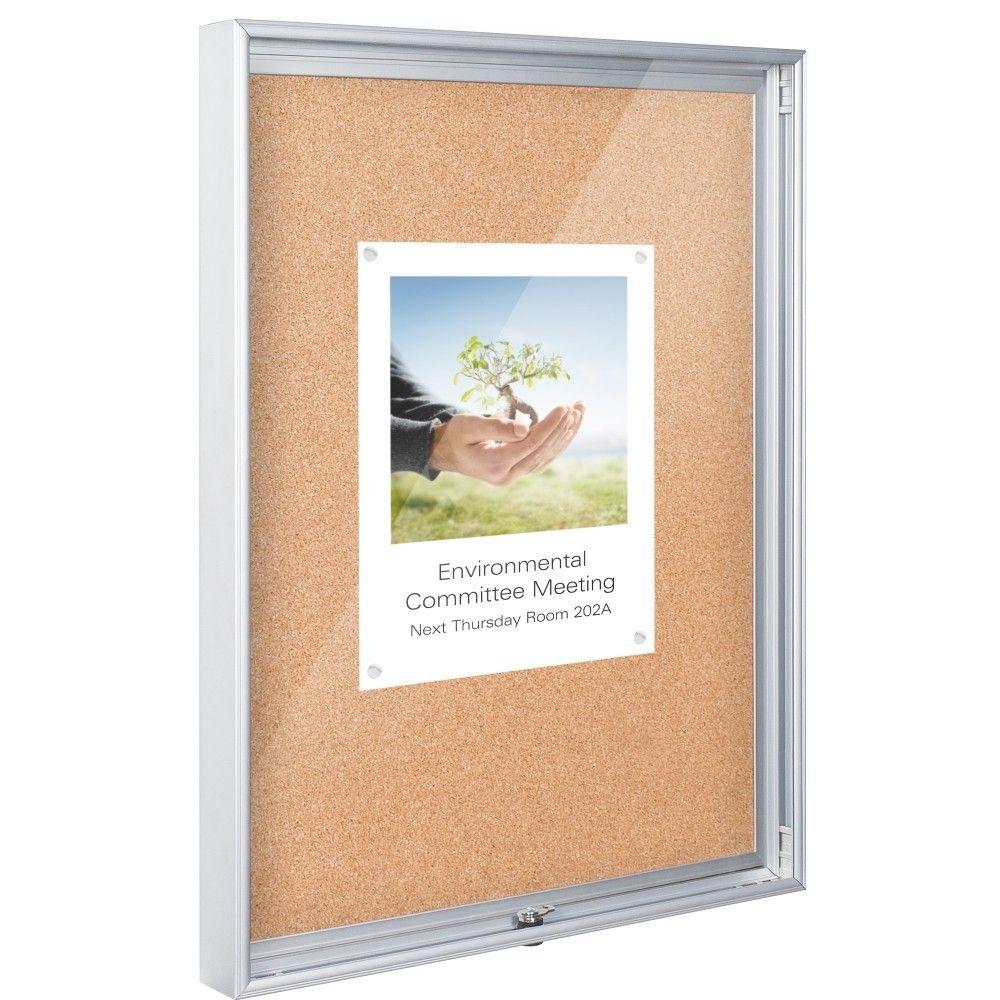 Economy Enclosed Wall Mounted Bulletin Board