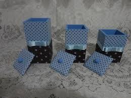 Resultado de imagem para potes de bebe decorados com tecido