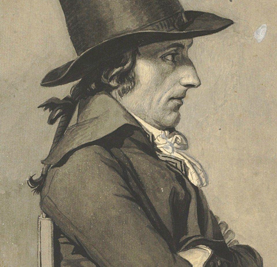 43. Portrait of AndréAntoine Bernard, called Bernard de
