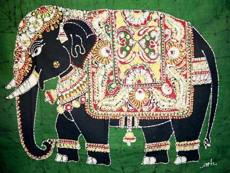 Batik Elephant Cards (5 Pack) | The Leprosy Mission