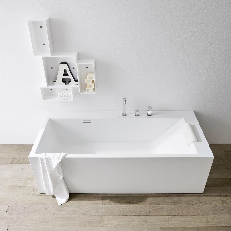 Kleines hotelbadezimmerdesign badewanne corian preis  badezimmer kreativ gestalten  pinterest