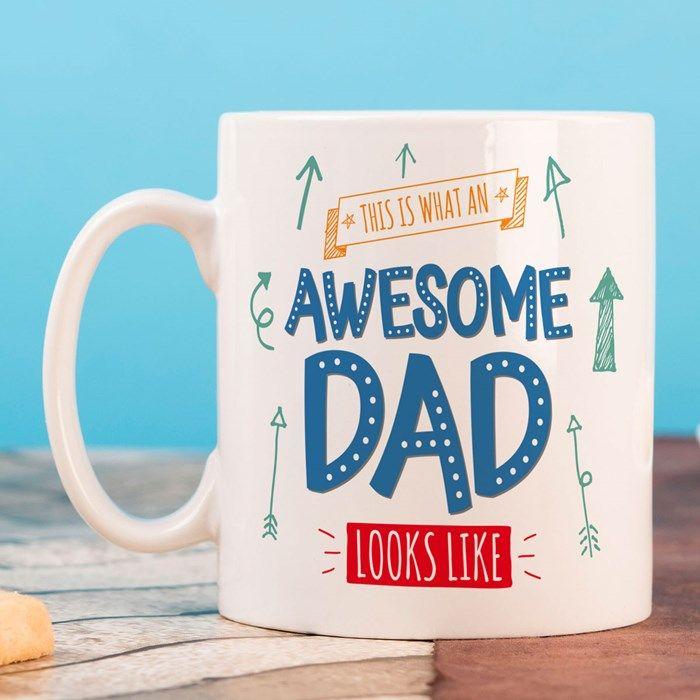 Personalised Mug - Awesome Dad | GettingPersonal.co.uk