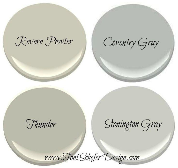 My Top 4 Benjamin Moore Grays Toni Schefer Design