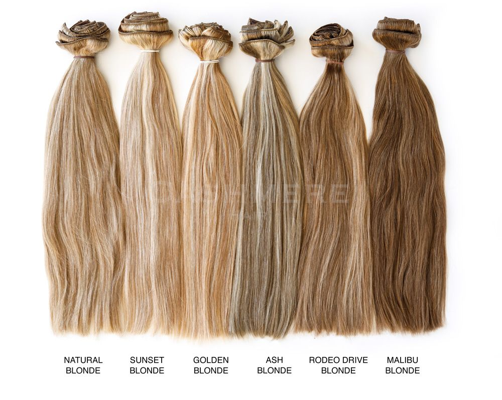 Hair Extension Color Chart Cashmere Hair Clip In