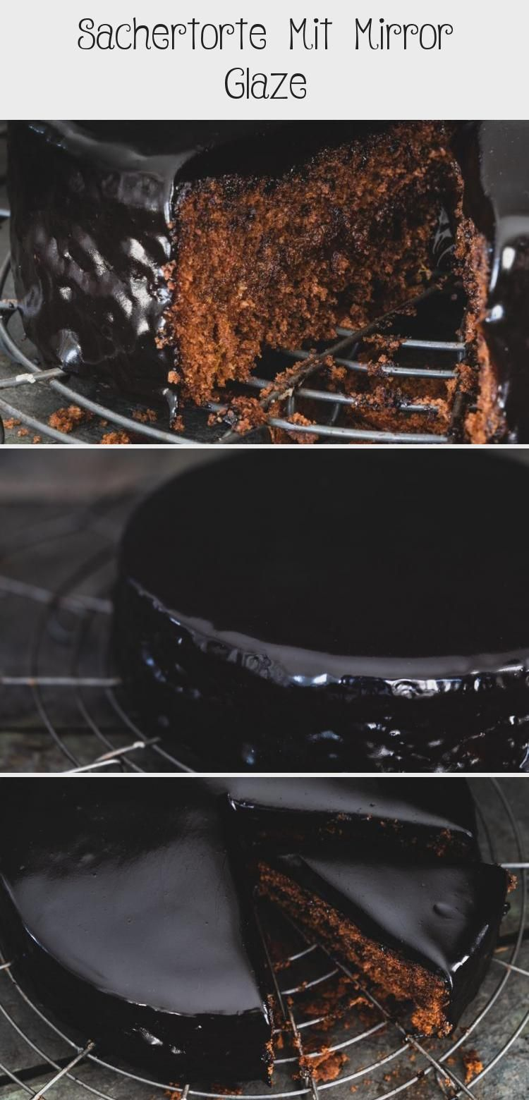 Photo of Rezept für eine klassische Sacher Torte. Die wundervolle Glanz-Schokolglasur ma…