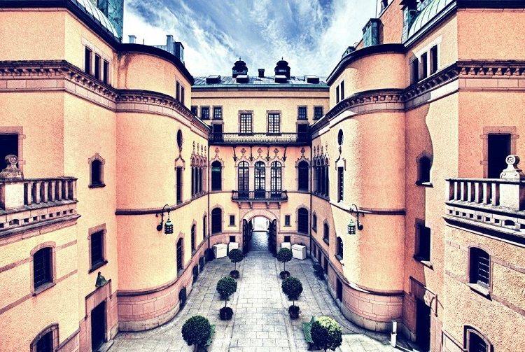 Hallwyl Museum - Courtyard