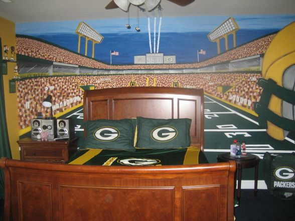 Information About Rate My Space Green Bay Packers Bedroom Nfl Gifts Boy Room