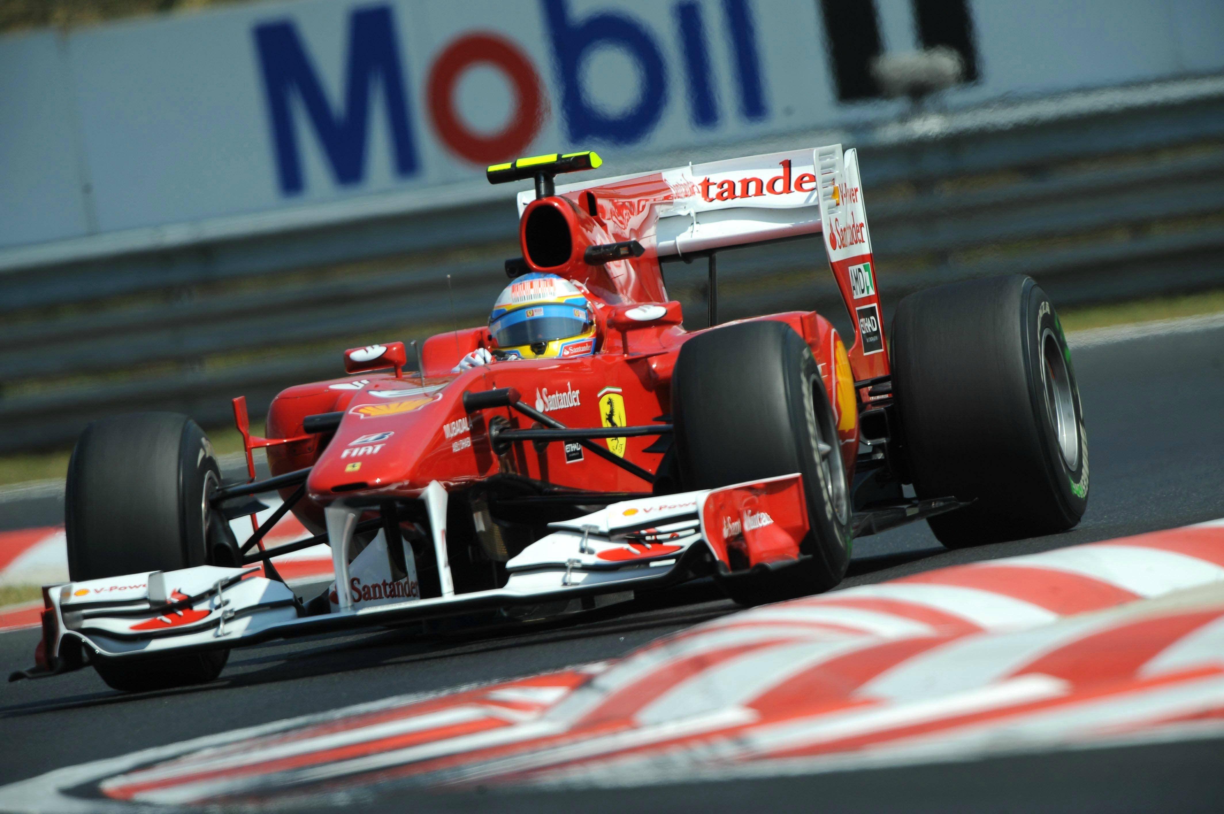 Ferrari F10 2010 Ferrari Pirelli Motorsport