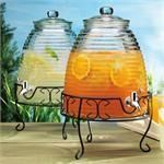Old Fashioned Beehive Beverage Dispenser with Stand $40...cute and different way to serve holiday punch