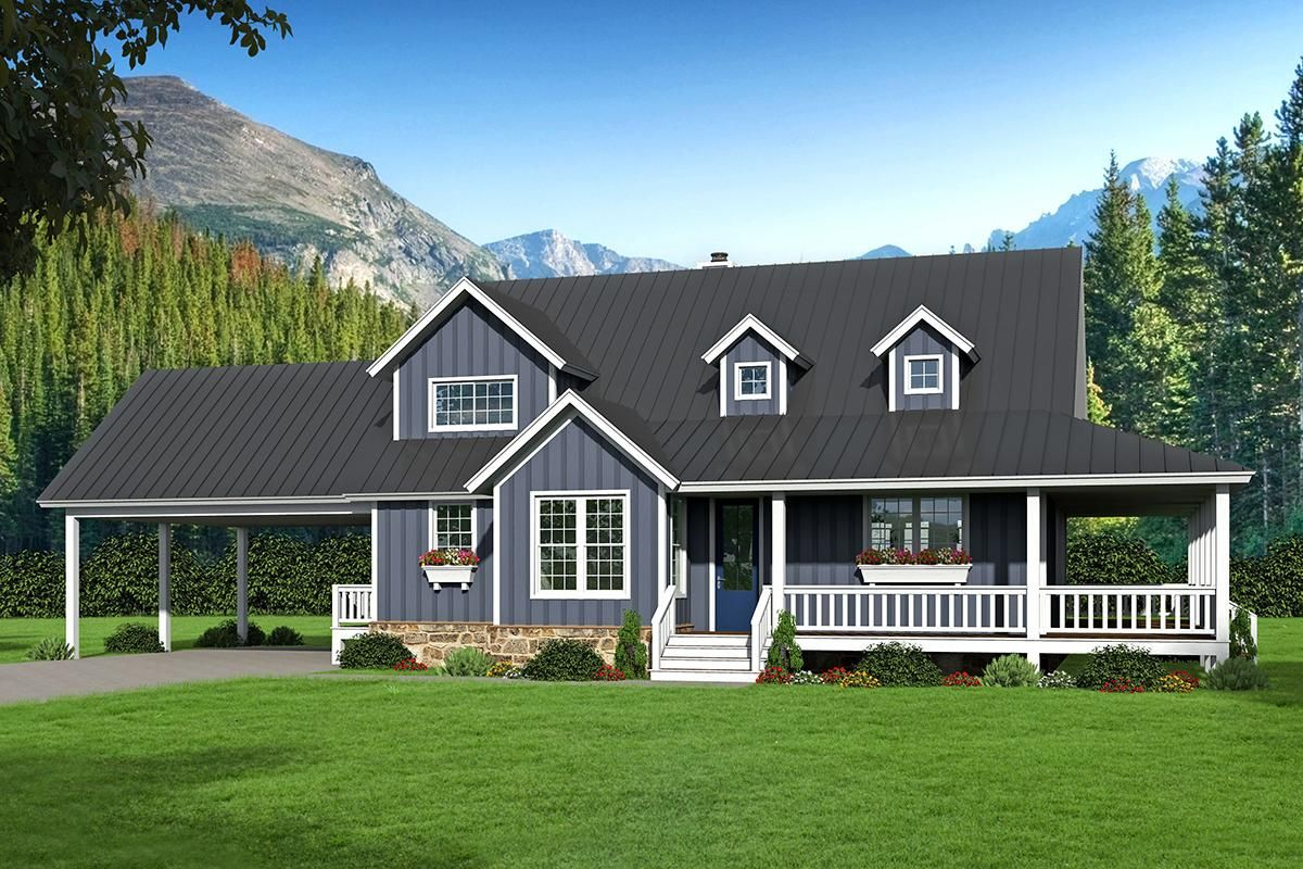 2 story master bedroom  Check out Plan  a story  sq ft Country house