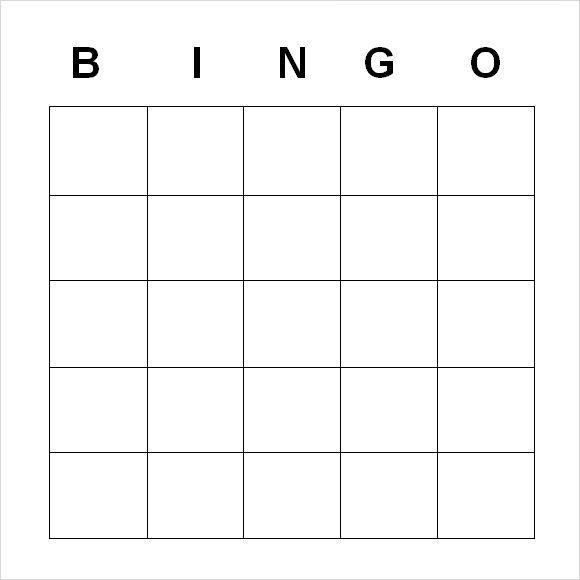 Amp Pinterest In Action Bingo Template Bingo Card Template Free Bingo Cards