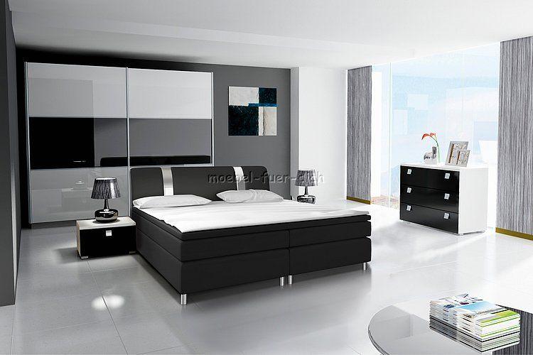 Tolle schlafzimmer komplett boxspringbett Deutsche Deko Pinterest - schlafzimmer komplett